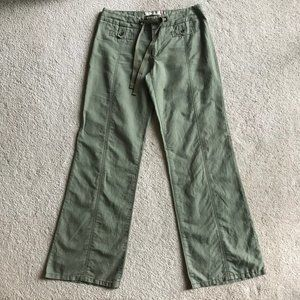 Daughters of the Liberation Linen Wide Leg Pants 6